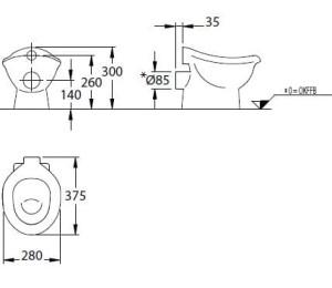 du y wyb r misek toaletowych w atrakcyjnych cenach w arena. Black Bedroom Furniture Sets. Home Design Ideas