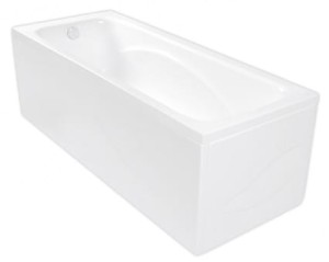 Wanna prostokątna POOL-SPA KLIO 170x70 z hydromasażem SD1, white PHPA410SD1C0000