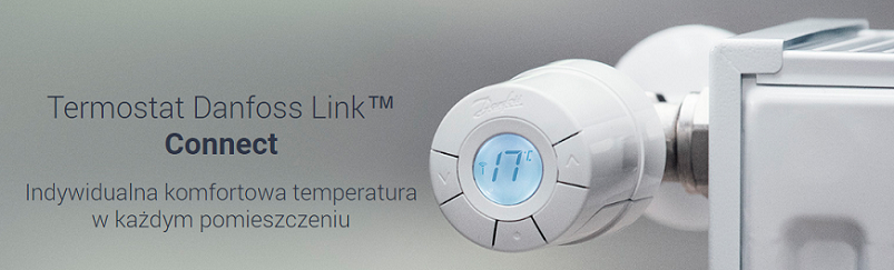 Termostat Danfoss Living Connect Link